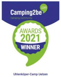 Camping2be Award 2021