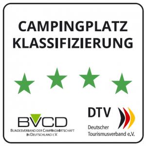 Campingplatz Klassifizierung DTV