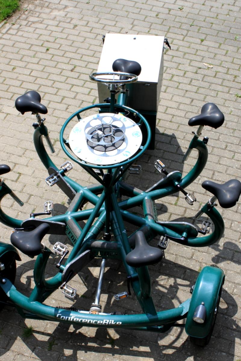 Erlebnisfahrt mit dem Conference-Bike