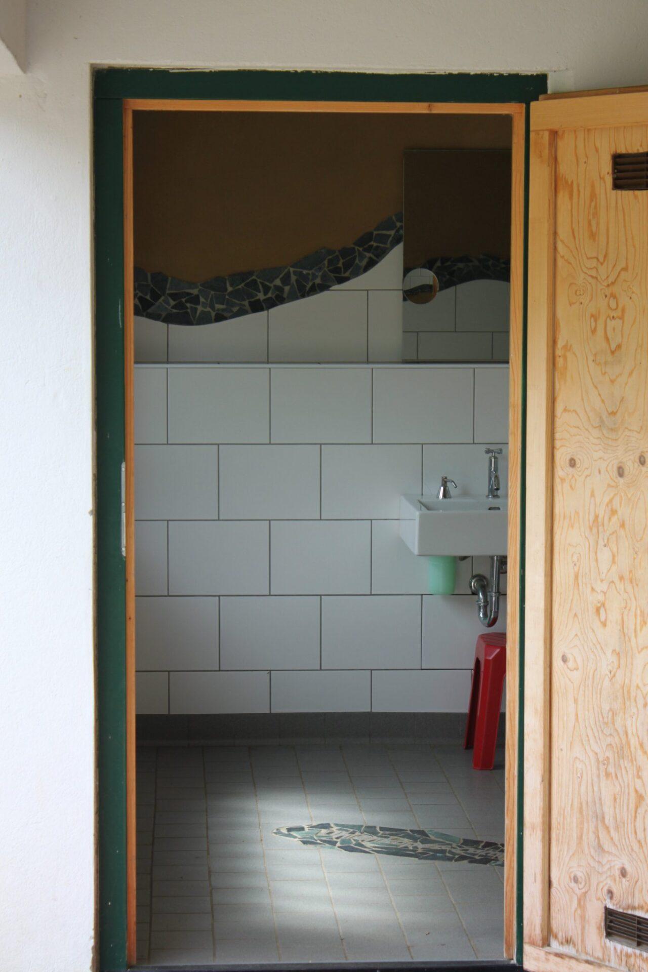 Sanitäreinrichtung an der Zeltwiese
