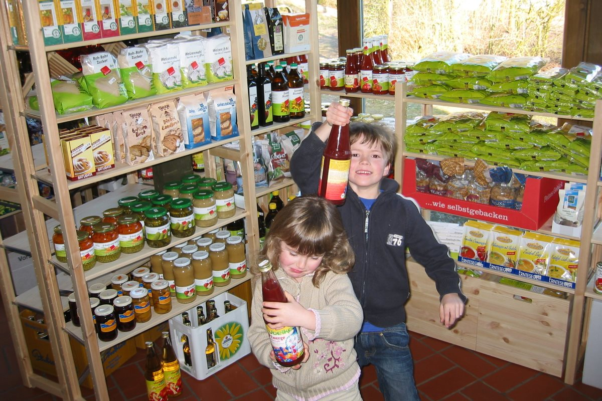 Wholefood shop - children love it