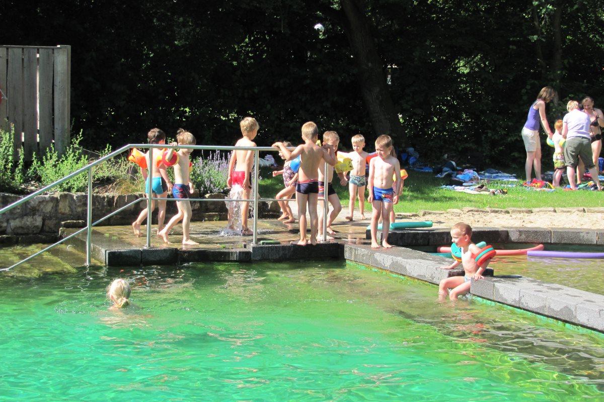Spaß für Kinder im NaturFreiBad