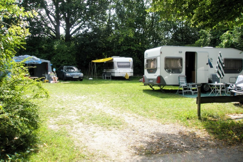 Pitch for caravans or motorhomes